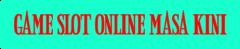 Game Slot | Slot Online | Judi Slot Online Terpercaya